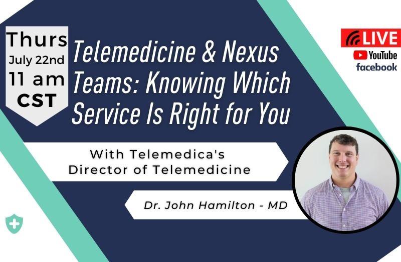 Telemedica newsletter, July 2021