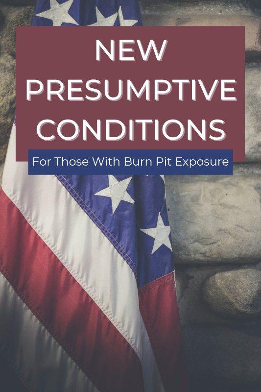 New presumptive conditions 1